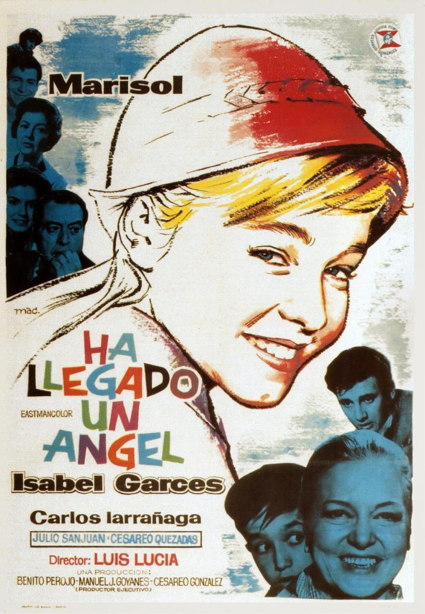 HA LLEGADO UN ANGEL (1961) [BLURAY 720P X264 MKV][AC3 5.1 CASTELLANO] torrent